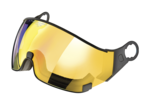 cp visor flash gold mirror