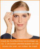 opmeten maat skihelm topsnowshop.nl CP14410