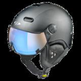 Carachillo Carbon pol vario helm black carbon s.t dl vario lens brown pol ice mirror