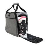 skischoenentas skihelmtas ski helm tas skischuhtasche - skihelmtasche ski helmet bag-case grijs 2