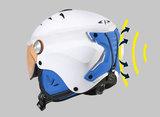 skihelm met vizier cp camulino extra veilig voor kind