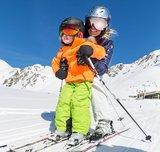 Kinder Skihelm mit Visier Schwarz - Cp Camulino -  Verspiegelt Visier (☁/☀/❄)_