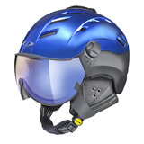 CP CAMURAI CR SKIHELM - BLUE/BLACK S.T - DL VARIO LENS BL MIRROR VIZIER CAT.1-3 (☁/☀/❄) CP14311