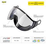 CP13 DL Vario Lens Silber Mirror Visor Camurai en Cuma S1-S3
