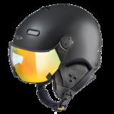 Snowboard helm met Vizier CP Carachillo_black-s.t._multicolour-mirror