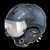 Helm Cuma Midnight Blue s.t. silver Mirror