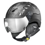 Helm Cuma Cubic Black Cubic Silver Mirror