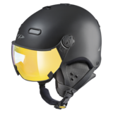 Snowboard helm met Vizier CP Carachillo - black s.t. / black - flash gold mirror