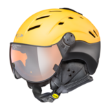 Helm Camurai gold fusion black s.t. orange silver mirror