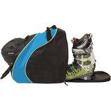 skischoenentas skihelmtas ski helm tas skischuhtasche - skihelmtasche ski helmet bag-case blauw zwart 2
