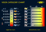 CP skihelm vizier categorie overzicht