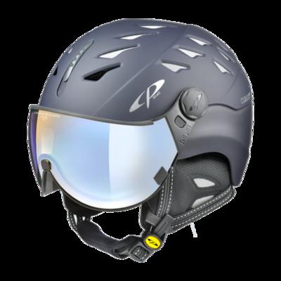 CP Helm mit Visier Blau - Cuma - Photochrom/Polarisiert/Verspiegelt ☁/❄/☀