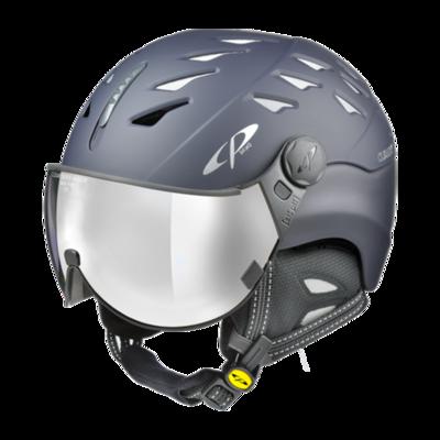 CP Helm mit Visier Blau - Cuma - Verspiegelt ☁/❄/☀