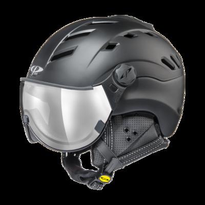 CP Helme mit Visier Schwarz - CP Camurai - mit Photochrom & Verspiegelt Visier