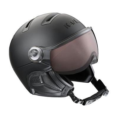 Kask Class Shadow Schwarz - Helme mit Visier - Photochrom Visier (☁/❄/☀)