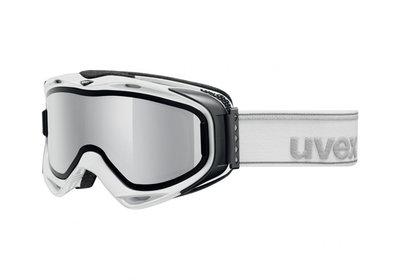 SKIBRIL UVEX G.GL 300 TOP  M-L WIT (☁/❄/☀)