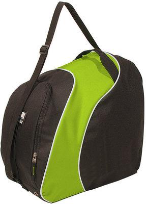 Skischuhe Tasche & Skihelm Tasche in eins! | schwarz grun