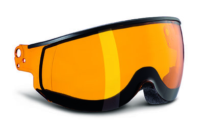 Kask Piuma Orange single lens visier Cat.2 (☁/☀) - für Kask skihelm < Saison 19-20