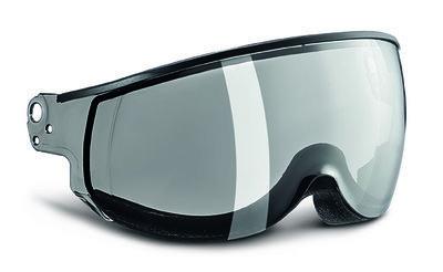 Kask Piuma Silber Mirror single lens visier Cat.2 (☁/☀) - für Kask skihelm < Saison 19-20