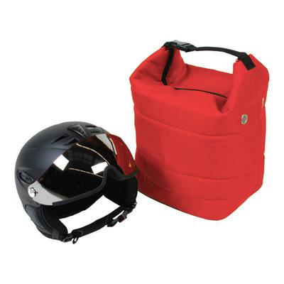ski helm tasche rot - skihelmtasche auch für die skibrille