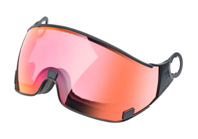CP 28 Skihelm Visier photochromatisch & polarisiert - Cat. 1-2 (☁/❄) dl pol vario red mirror
