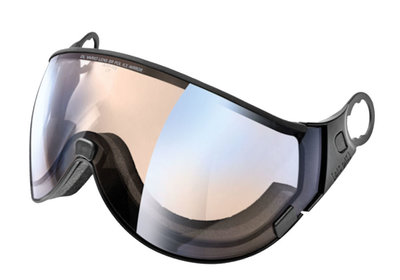 CP 16 Skihelm Visier photochromatisch & polarisiert - Cat. 1-2 (☁/❄/☀) dl vario brown pol ice mirror