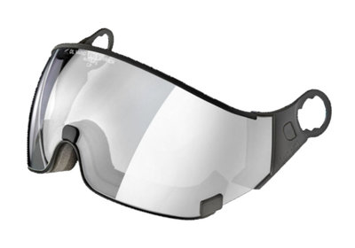CP 23 Skihelm Visier photochromatisch - Cat. 1-2 (☁/❄/☀) - Dl Vario Silver Lens Mirror