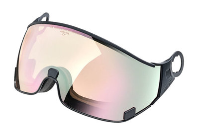 CP 20 Skihelm Visier photochromatisch - Cat. 1-2 (☁/❄/☀) - DL Vario Lens Water Pink Mirror