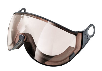 CP 12 Skihelm Visier photochromatisch - - Cat. 2-3 (☁/☀) - DL Vario Lens Brown Mirror