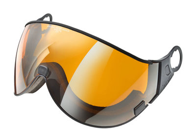 CP 01 Skihelm Visier - cat. 2 (☁/☀) - Orange silver mirror