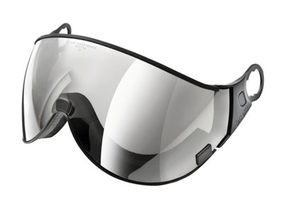 CP 02 Skihelm Visier - cat. 2 (☁/☀) - Clear silver mirror