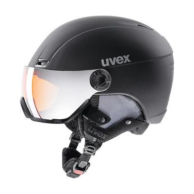 Uvex Hlmt 400 Visor Style black-mat