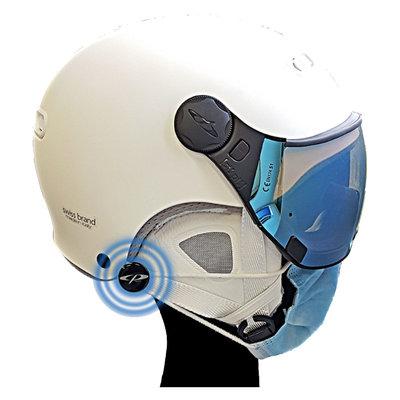 CP Pins zur Befestigung der Gesichtsmaske | Kein lästiges Abnehmen von der Helm nach jedem Abstieg! | Universal