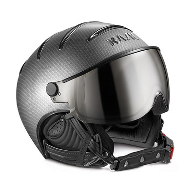 Skihelm Kask elite pro  - light carbon black - photochromic Vizier cat. 2 (☁/☀/❄)