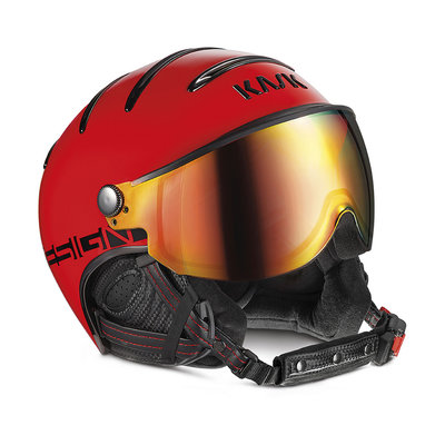 KASK MONTE CARLO SKIHELME - RED - RED MIRROR VISIER CAT. 2 ☀/☁