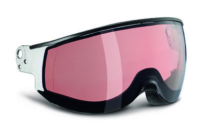 SMOKE PINK PHOTOCHROMIC Cat.2 - (☀/☁) - PIUMA VISIER - FÜR KASK CLASS SKIHELM