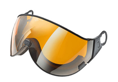 CP 01 Orange Silver Mirror Visier - Cat.2 (☁/☀/❄) - Für CP Camurai & Cuma Skihelm