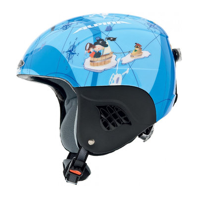 ALPINA CARAT FLASH SKIHELM - PIRAT