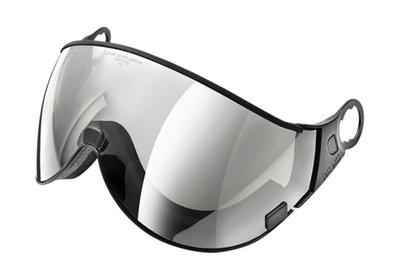 CP 02 Clear Silver Mirror Visier (S2 ☁/☀/❄) - Für CP Camurai & CP Cuma Skihelm