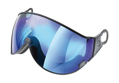 CP 04 Flash Blue Mirror Visier - Cat.3 (❄) - Für CP Camurai & Cuma Skihelm