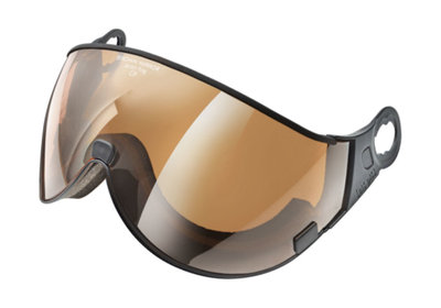 CP 14 Brown Mirror Visier - Cat.2 (☁/☀/❄) - Für CP Camurai & Cuma Skihelm