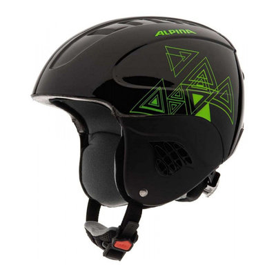 ALPINA CARAT SKIHELM - BLACK GREEN