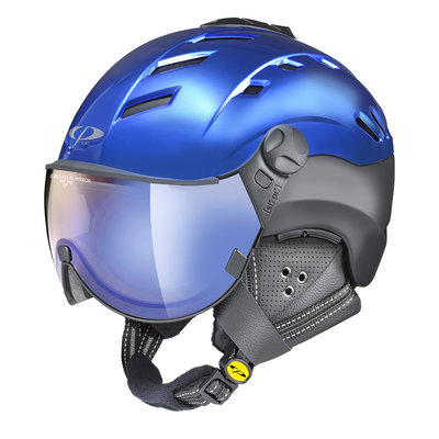 CP CAMURAI CR SKIHELM - BLUE/BLACK S.T - DL VARIO LENS BL MIRROR VISIER CAT.1-3 (☁/☀/❄)