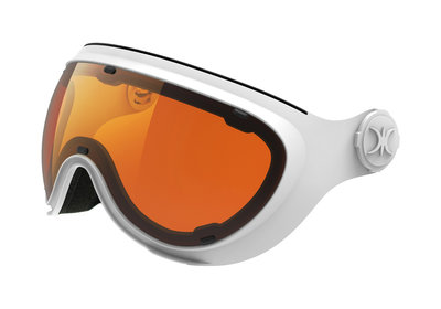 SLOKKER ERSATZ VISIER ORANGE WHITE - (CAT. 1-2 - ☁/☀/❄)