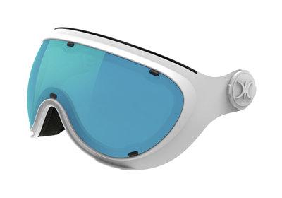 SLOKKER VISIER BLUE WHITE - (CAT. 1-2 - ☁/☀/❄)