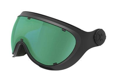 SLOKKER VISIER GREEN BLACK - (CAT. 1-2 - ☁/☀/❄)