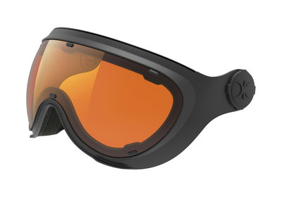 SLOKKER ERSATZ VISIER ORANGE BLACK - (CAT. 1-2 - ☁/☀/❄)