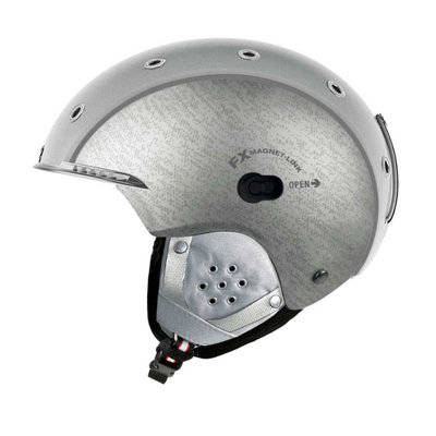 CASCO SP-3 AIRWOLF SKIHELM - SILBER - DAMEN & HERREN