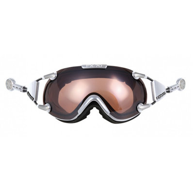 CASCO FX-70 VAUTRON SKIBRILLE - CHROME - PHOTOCHROMIC POLARIZED CAT. 1-3 - (☁/☀/❄)