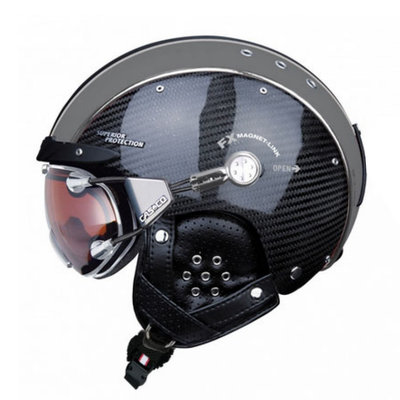 CASCO SP-3 SKIHELM - CARBON ZWART LIMITED - DAMEN & HERREN